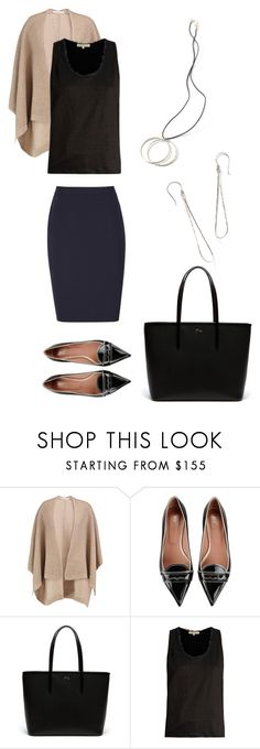 """""""Work Style 3 FW17"""" by theresadelgado on Polyvore featuring Duffy, RED Valentino, Lacoste and Vanessa Bruno"""