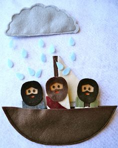 Bible  finger puppets