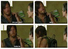 Daryl & Carol  S4 E2