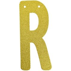 (1pc Only) Personalized Hanging Glitter Gold Paper Letter Number Banners/Garlands Hanging With String Birthday Party Decorations