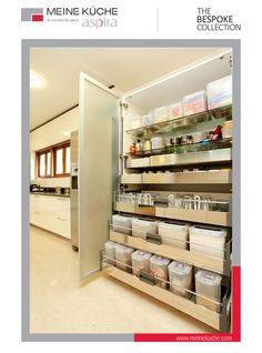 Wide width - Larder Units for heavy storage