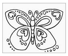 Butterfly Coloring Pages 002 | Coloring Sheets | Pinterest ...