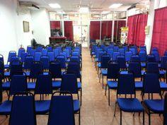 Dewan ceramah yang luas, berhawa dingin dan selesa. Walaupun boleh muat 150 peserta, jumlah dihadkan kepada 120 peserta sahaja untuk menjaga keselesaan.
