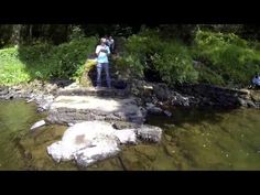 FPV Quadcopter Awesome River Crash and Scuba Diver Rescue With Sound - YouTube