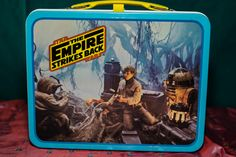 Vintage Star Wars Empire Stricks Back Metal Lunch Box with Thermos c.