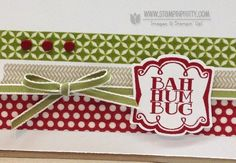 Stampin up stampinup stamp it pretty buy order very merry tags holiday christmas card idea label artison punch