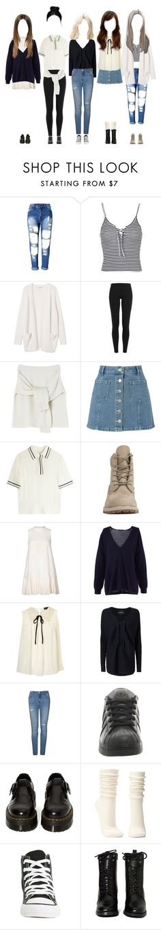 """""""Promise at Cultwo Show"""" by promise-official ❤ liked on Polyvore featuring Topshop, Monki, Polo Ralph Lauren, Miss Selfridge, rag & bone, Timberland, Free People, TIBI, Designers Remix and Ally Fashion"""