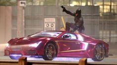 'Suicide Squad' says goodbye to Toronto with epic Batman vs. Joker set video - Batman News