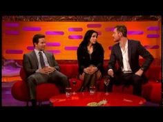 Watch Marky Mark make a complete ass of himself (he's baked and drunk) Fassy is his normal charming hot self.   The Graham Norton Show - 8th Feb 2013.  Entire show.