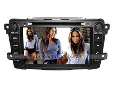 Mazda CX-9 Android Auto Radio DVD GPS DTV Wifi 3G Internet Bluetooth Touch Screen