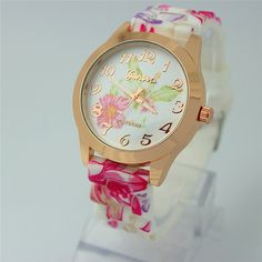 Floral Strap/Face Watch (Type 1)  $35