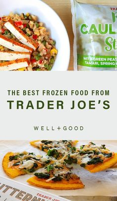 Whipping up a healthy meal is easy when you have these staples from Trader Joe's frozen food aisle on hand, from veggie medelies to riced cauliflower. Heart Healthy Recipes, Healthy Snacks, Healthy Eating, Trader Joes Frozen Food, Best Frozen Meals, Superfood Recipes, Most Nutritious Foods, Dinner Dishes, Breakfast Recipes