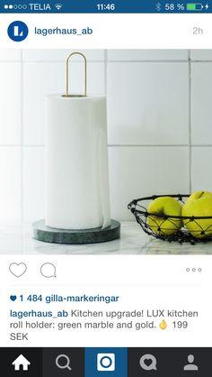 Mässing o marmor i fin kombination!