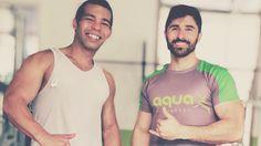 Depois do treino, aquela foto com o personal.