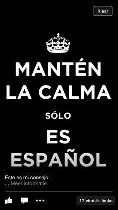 Sólo es español