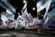 Way Beyond Art3 exhibit by Douglas Burnham & Ila Berman, San Francisco exhibit design