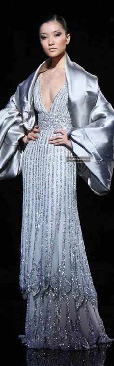 Elie Saab Fall Winter 2007 Haute Couture - bcr8tive. Repinned from Diane Bedell's board, as are others here.