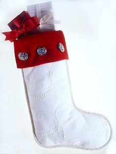 Would love this with christmas buttons