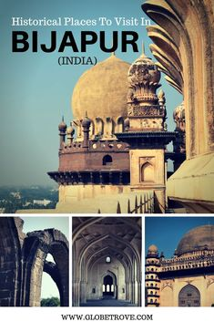 There are numerous historical places to visit in Bijapur. Some of them are well maintained and others are not. The whole city is amok with history.. In away it feels as if the past and the resent collided to form one city.