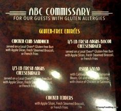 Allergy-Friendly Menus Currently Testing in Select #WDW Restaurants