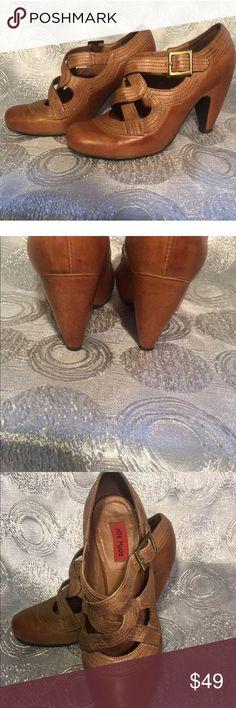 Miz Mooz Soho Women Antiqued Brown Pumps Shoe 6.5 Excellent condition Miz Mooz Shoes Heels
