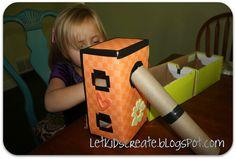 Let Kids Create: Shoebox {Lalaloopsy} Doll House