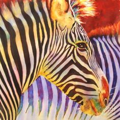 Stripes Painting by Linda Halom - Stripes Fine Art Prints and Posters for Sale