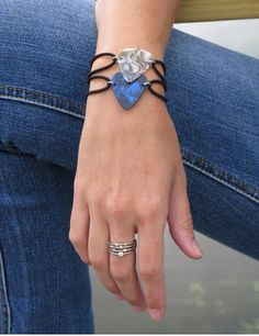 Guitar Pick Bracelet Could use Chris' picks.