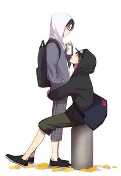 Levi x Eren  i ususaly dont ship yoai but this is to cute not to like