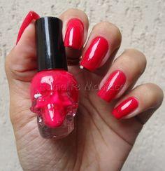 Esmaltemaníaca: Red Rose - Star Red Rose http://www.esmaltemaniaca.com.br/2015/04/red-rose-star.html  FP http://www.facebook.com/pages/Esmalte-Maníaca/223271664358917    Instagram @bru_esmaltemaniaca http://instagram.com/bru_esmaltemaniaca