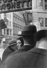 Girl in Fulton Street by Walker Evans 1929 New york