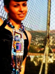 statement necklace  #beadwork