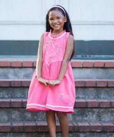 Pink Micaela Dress - Infant Toddler & Girls