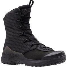 Tactical Footwear 177897: Under Armour 1287948 Men S Black 10 Infil Ops Gtx Leather Boots Size - 11 -> BUY IT NOW ONLY: $200.94 on eBay!