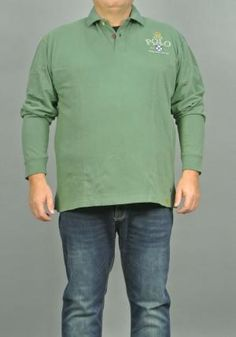 Polo Uomo Taglie Over Max Fort | Polo | 22300 VERDE
