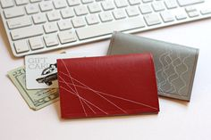 How About Orange..... Easy Diy wallets