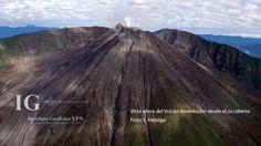 El Reventador está ubicado aprox. 90 km al Este de Quito y es en la actualidad uno de los tres volcanes en erupción del Ecuador.