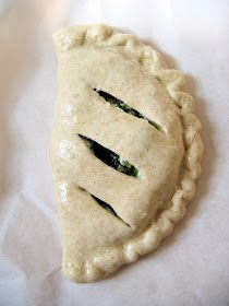 The Bojon Gourmet: Herbed Spinach and Goat Cheese Calzone