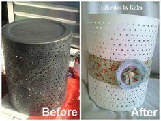 Lilicutes by Kakuseisha: Lixeira Shabby Chic