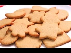 YouTube Easy Cookie Recipes, Dessert Recipes, Cake Pops, Gingerbread Cookies, Kids Meals, Fondant, Deserts, Tasty, Favorite Recipes