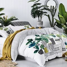 Greenhouse Quilt Cover Set