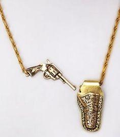 Holster & Gun Necklace