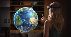 An awesome Virtual Reality pic! #Microsoft #HoloLens not be calculated on the game in the first place  Although earlier Microsoft is demonstrating HoloLens with games like #Minecraft and #Halo CEO - #SatyaNadella he said that the first version devaysa augmented reality will focus on entrepreneurial and business sectors.  In an interview with ZDNet after performing at the 2015 Worldwide Partner Conference Nadella explained that HoloLens's version is still in development as well as the company…