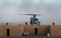 Up on the roof top ... (U.S. Marine Corps photo by Cpl. Joseph Scanlan/Released)