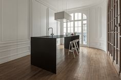 invisible kitchen by i29 interior architects seems to disappear in space