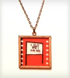 I Am So Happy You're Here Necklace by Glak Love on Scoutmob Shoppe