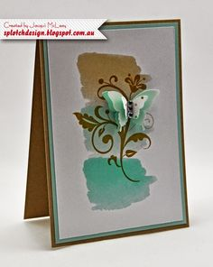 Splotch Design - Jacquii McLeay Independent Stampin' Up! Demonstrator: Butterflies Galore!
