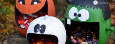 Craft Pumpkin Candy Holders - Faux Pumpkin Craft tutorial