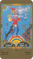 Fool from the Kazanlar Tarot at TarotAdvice Tarot Reading, Tarot Decks, Tarot Cards, Art Gallery, Popular, Happy, Image, Tarot Card Decks, Art Museum