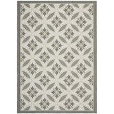 Found it at Wayfair - Courtyard Light Grey/Anthracite Indoor/Outdoor Rug